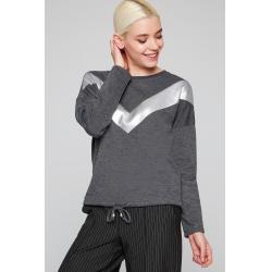 Şeritli Sweatshirt